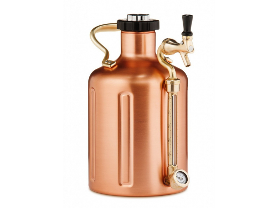 GrowlerWerks uKeg 128 Copper-Plated (3,8L)
