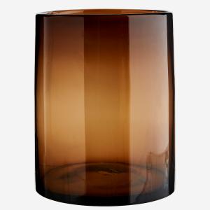 Vase/Lykt brun
