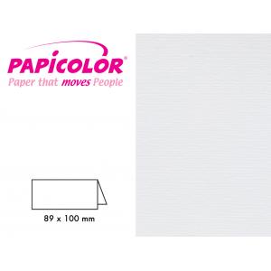 Papicolor Bordkort – 930 Hvit 25stk