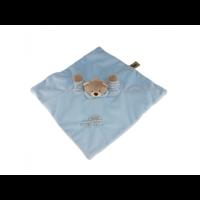 Koseklut, bamse blå