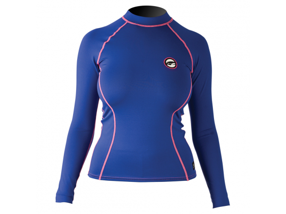 Prolimit Rashguard Long Blue/Pink