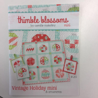 Vintage holiday mini