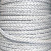 Bomullsnor 5 mm hvit