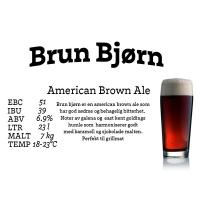 Brun Bjørn Brown Ale