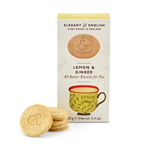 Shortbread Lemon & Ginger
