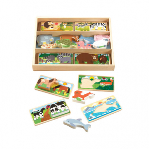 MELISSA & DOUG - ANIMAL PICTURE BOARD