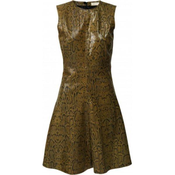 Mercy Leather dress