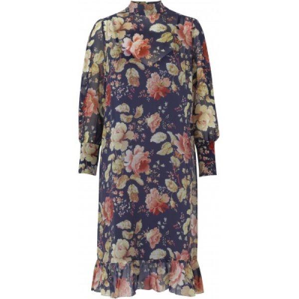 Maggie silk dress