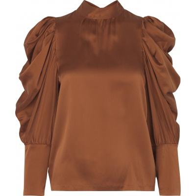 Missy Silk Blouse Autumn Glaze