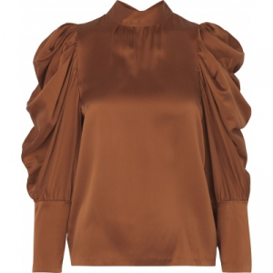 Missy Silk Blouse Autumn Glaze