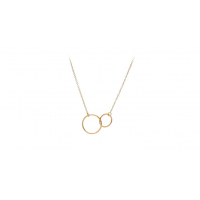 Double Plain Necklace - Pernille C