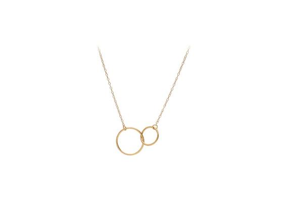 Double Plain Necklace - Pernille C