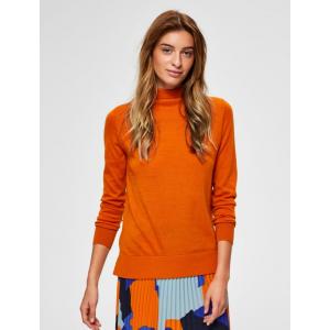 Meroni genser orange