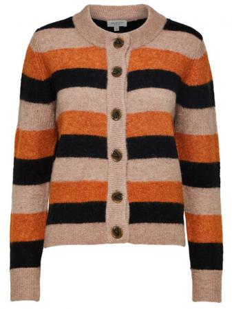 Sia Knit Cardigan Hawaiian Stripe