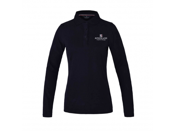 KL Fransis Ladies LS Polo Shirt