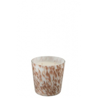 Scented Candle Neon Night White/Gold Small
