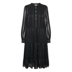Woven Dress On Knee L/S