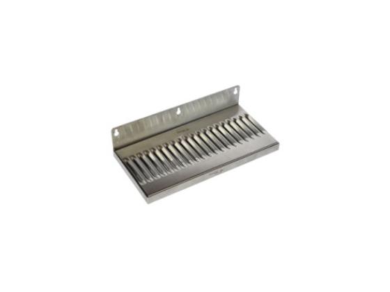 Drip Tray 30x12 cm med sluk