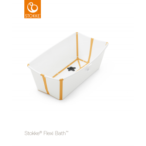 STOKKE® - FLEXI BATH® WHITE YELLOW