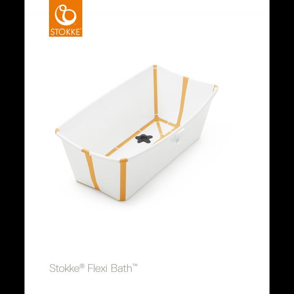 STOKKE® - FLEXI BATH® WHITE YELLOW