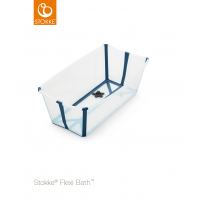 STOKKE® - FLEXI BATH® TRANSPARENT BLUE
