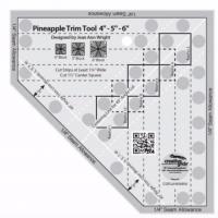 Creative Grids Pineapple Trim Tool Mini Quilt Ruler