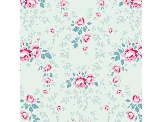Tilda old rose mint floral mini