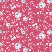 Tilda old rose berry floral mini
