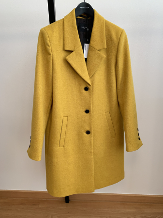 Sasja Wool Coat Lemon
