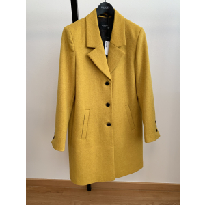 Sasja Wool Coat Lemon