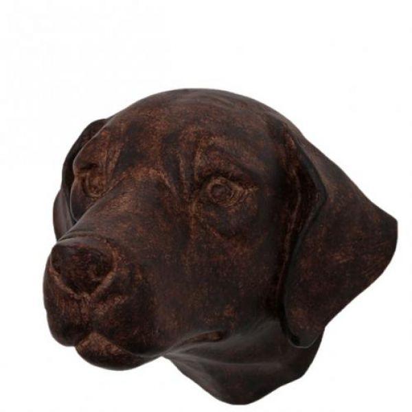 Hund henger brun