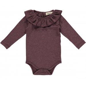 MARMAR - BODY BERTA DARK PLUM LUREX