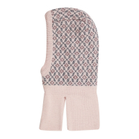 Flash ullbalaklava Mini Rosa