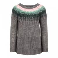 Nananda strikket genser Mini Steel Gray