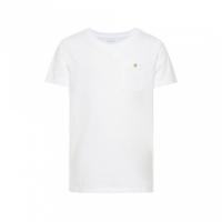 Vebbe t-skjorte basis hvit