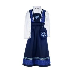 Salto Festdrakt baby pike blå, komplett med skjorte, Kristin