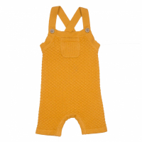 Memini Apple romper Apricot Yellow