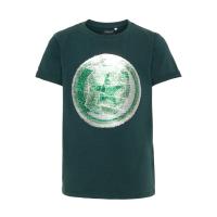 Avengers Logan t-skjorte med flip kids Grønn