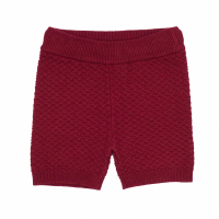 Memini Jim Knit shorts fw19 Red