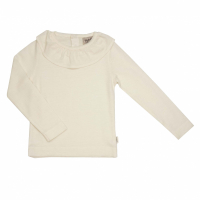 Memini Heidi White Top fw19 Egret white