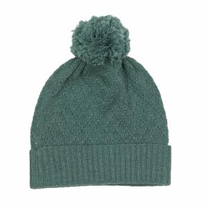 Memini Knit Beanie strikket lue med dusk Silver Pine