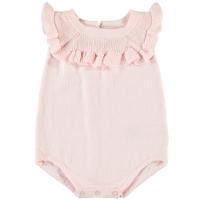 Lael strikket romper baby rosa