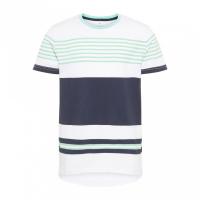 Freddy kids t-skjorte striper Hvit/Mørkblå