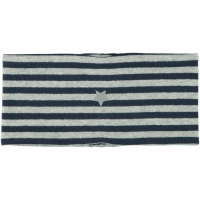Moppy pannebånd med striper Grey Melange