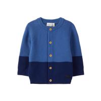 Letias strikket cardigan baby blå