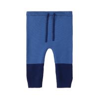 Letias strikket bukse baby Blå