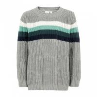 Nitus strikket genser Mini Grey Melange