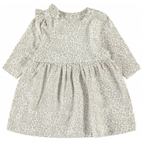 Lala kjole leopardmønstret baby
