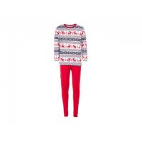 Salto Reindeer 2-delt julepysj rød