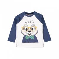 Chip langermet t-skjorte Chipmunks hvit/blå
